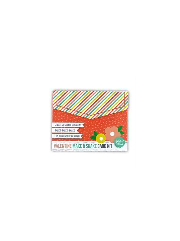 Valentine Make & Shake Card Kit