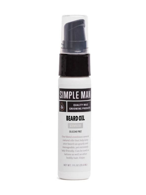 Simple Man Scentless Beard Oil
