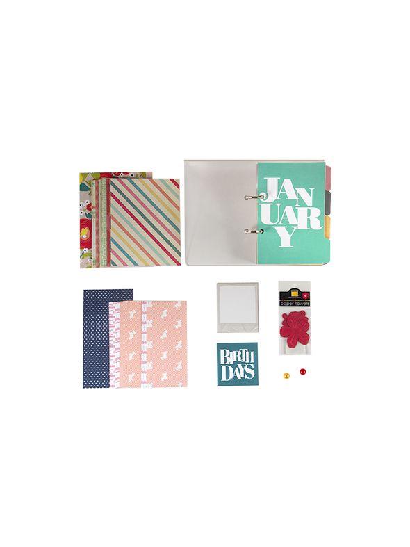 Anthology Perpetual Birthday Calendar Kit