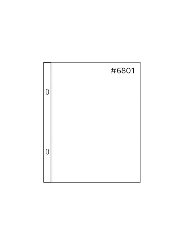 Anthology 6 x 8 Sheet Protectors (20 pack – 1 style)
