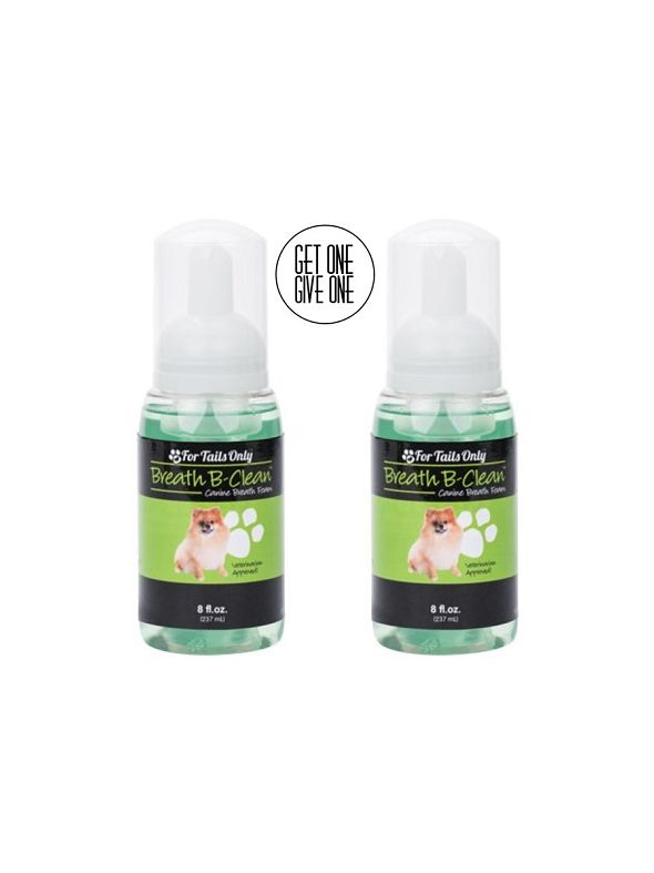 FTO - Breath B-Clean Canine Breath Foam [QTY: 2]