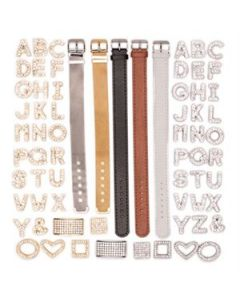 Leather-like Bands and Charms Set - While Supplies Last!