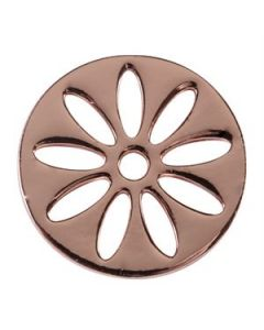 Large Rose Gold Sunflower Screen